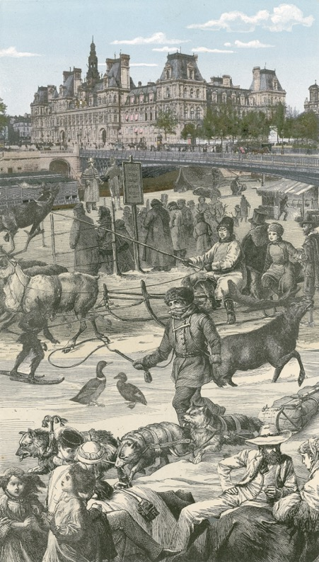 Paris Suite — The Day The Seine Froze Over