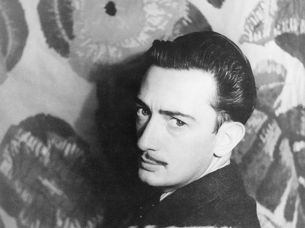 Salvador Dali, photo by Carl Van Vechten